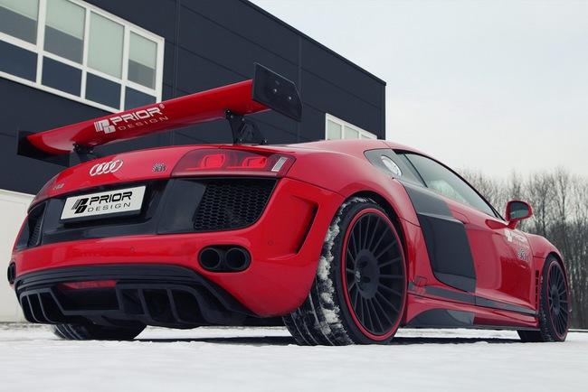 Ngắm xế độ Audi R8 GT650 của Prior Design 10