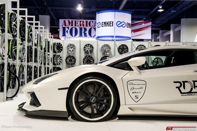 Bắt gặp Justin Beiber lái DMC Aventador LP900 Molto Veloce 12