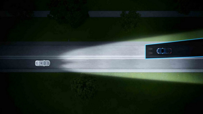 Volvo ra mắt hệ thống đèn pha mới 2