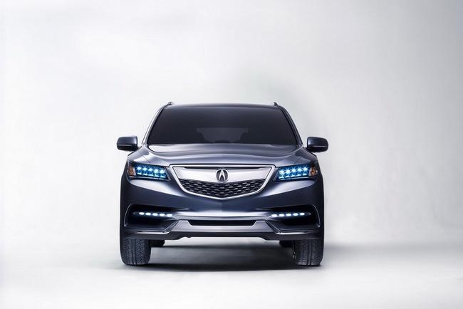 Acura MDX 2014 đã sẵn sàng đi vào sản xuất 1