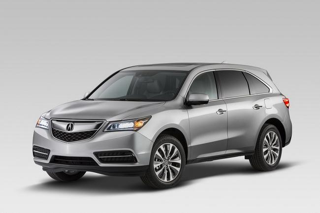 Acura MDX 2014: Tăng kích thước nhưng nhẹ hơn 2