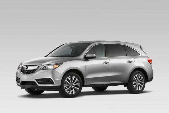 Acura MDX 2014: Tăng kích thước nhưng nhẹ hơn 3