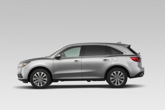 Acura MDX 2014: Tăng kích thước nhưng nhẹ hơn 4