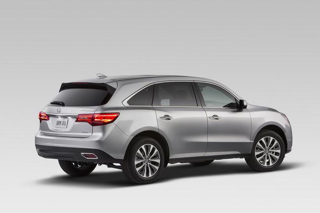 Acura MDX 2014: Tăng kích thước nhưng nhẹ hơn 5