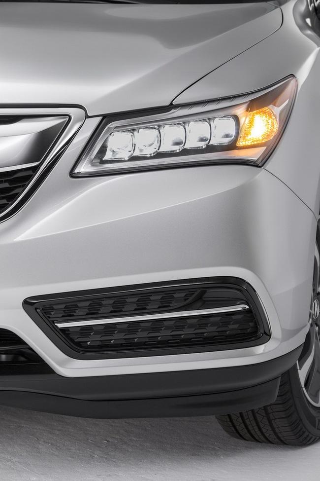 Acura MDX 2014: Tăng kích thước nhưng nhẹ hơn 6