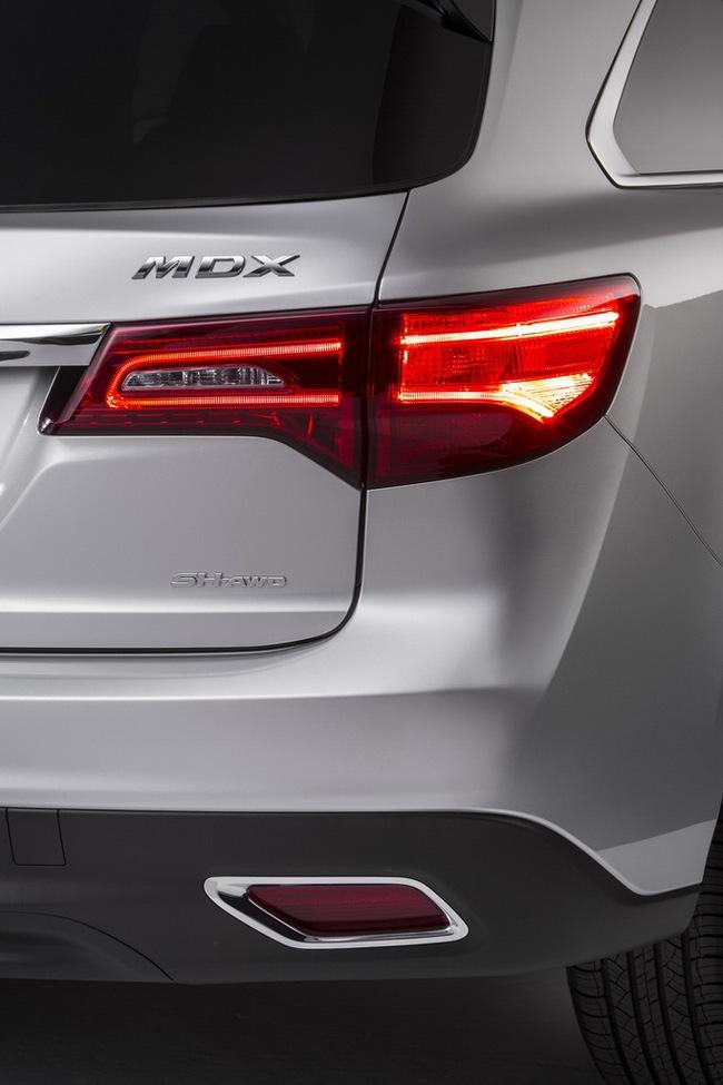 Acura MDX 2014: Tăng kích thước nhưng nhẹ hơn 7