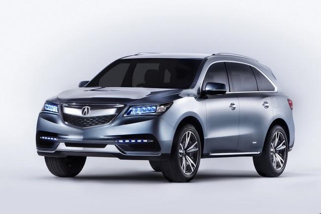 Acura MDX 2014 đã sẵn sàng đi vào sản xuất 2