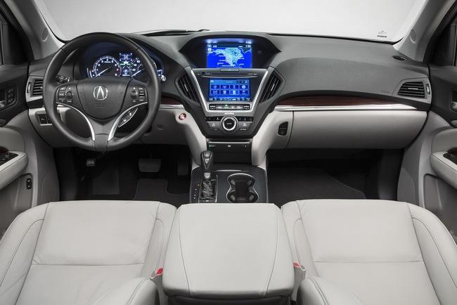 Acura MDX 2014: Tăng kích thước nhưng nhẹ hơn 11