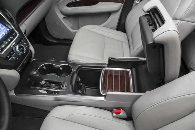 Acura MDX 2014: Tăng kích thước nhưng nhẹ hơn 15
