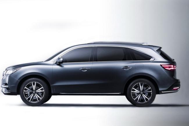 Acura MDX 2014 đã sẵn sàng đi vào sản xuất 3