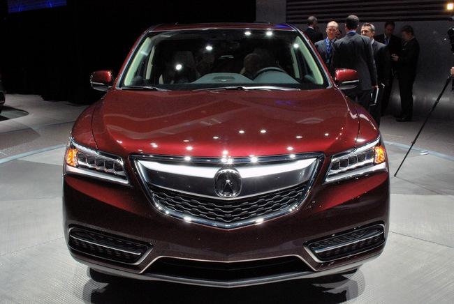 Acura MDX 2014: Tăng kích thước nhưng nhẹ hơn 20