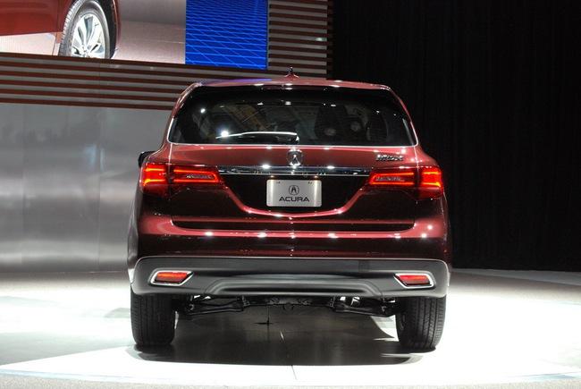 Acura MDX 2014: Tăng kích thước nhưng nhẹ hơn 21