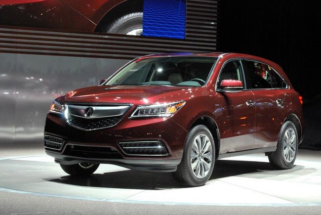 Acura MDX 2014: Tăng kích thước nhưng nhẹ hơn 22
