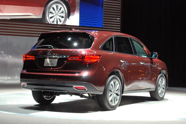 Acura MDX 2014: Tăng kích thước nhưng nhẹ hơn 23
