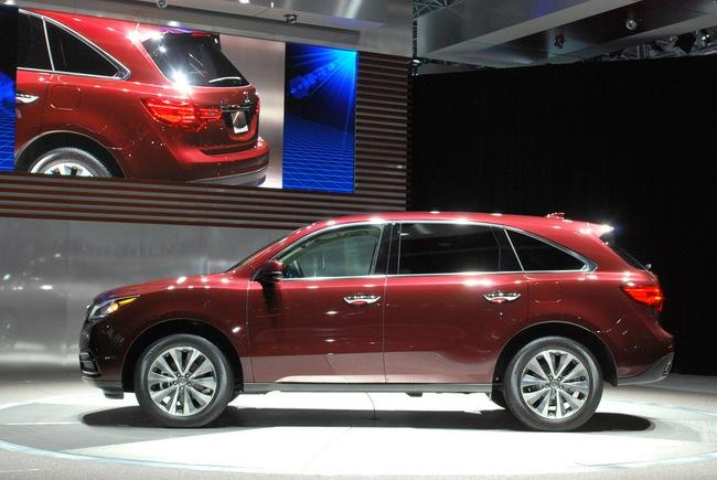 Acura MDX 2014: Tăng kích thước nhưng nhẹ hơn 24