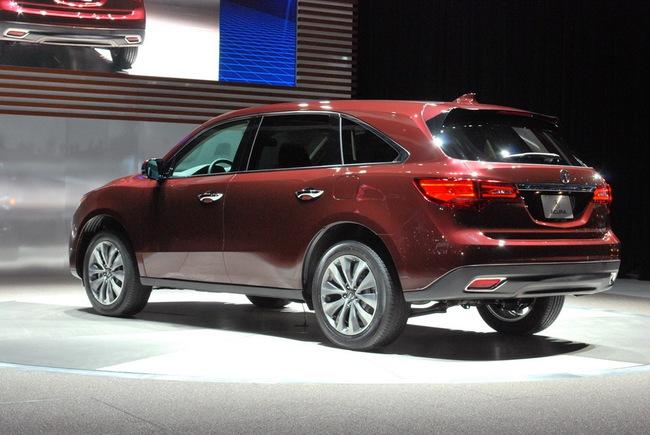 Acura MDX 2014: Tăng kích thước nhưng nhẹ hơn 25