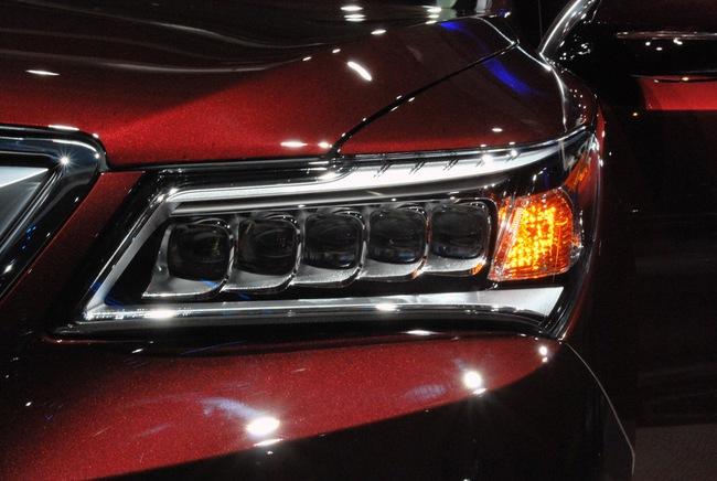 Acura MDX 2014: Tăng kích thước nhưng nhẹ hơn 26