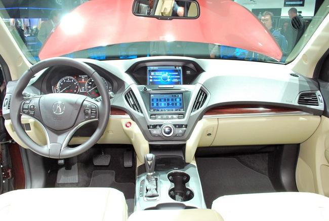 Acura MDX 2014: Tăng kích thước nhưng nhẹ hơn 29