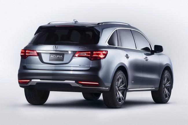 Acura MDX 2014 đã sẵn sàng đi vào sản xuất 4