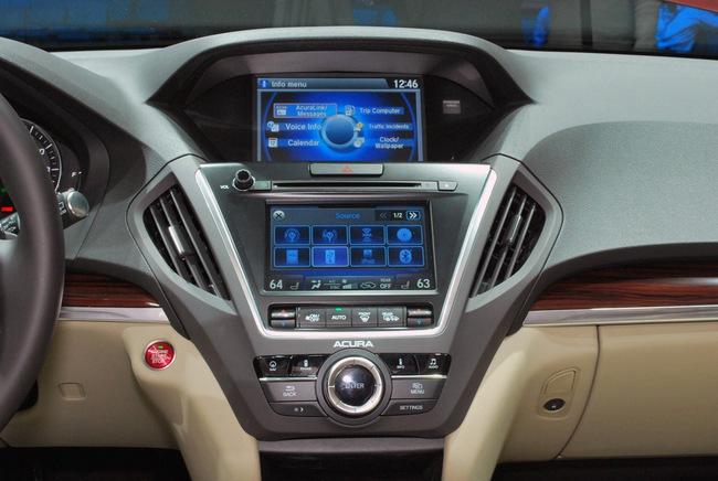 Acura MDX 2014: Tăng kích thước nhưng nhẹ hơn 30