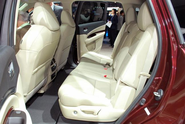 Acura MDX 2014: Tăng kích thước nhưng nhẹ hơn 32