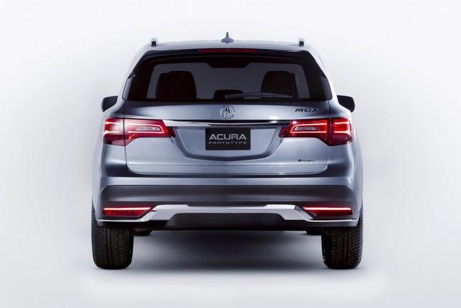 Acura MDX 2014 đã sẵn sàng đi vào sản xuất 5