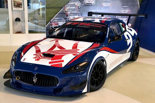 Trình làng xế đua Maserati GranTurismo MC Trofeo 2013 4