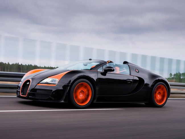 Bugatti Veyron Grand Sport Vitesse WRC – Siêu mui trần nhanh nhất thế giới 7