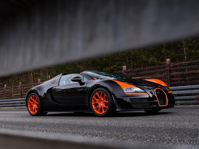 Bugatti Veyron Grand Sport Vitesse WRC – Siêu mui trần nhanh nhất thế giới 13