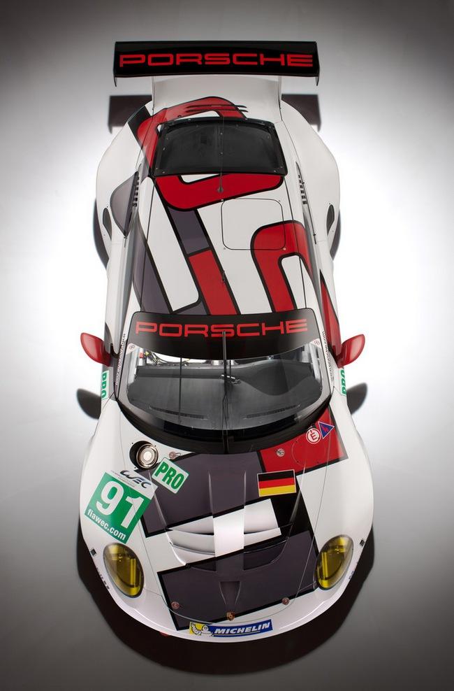 Xế đua Porsche 911 RSR 2013 chính thức trình làng 4