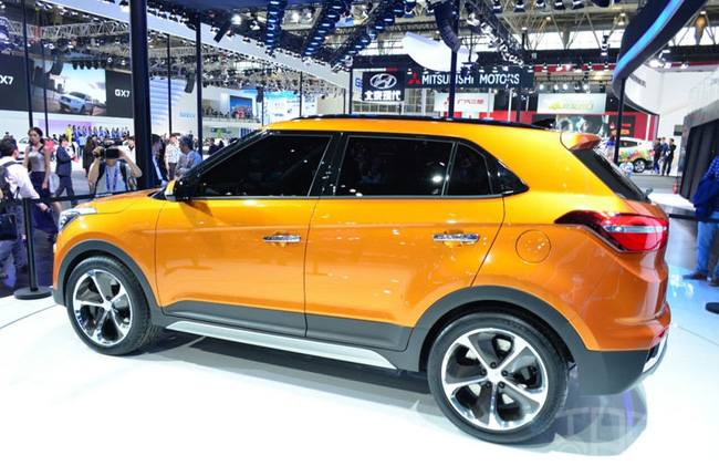 Hyundai ix25 - Xe SUV cỡ nhỏ hoàn toàn mới 4