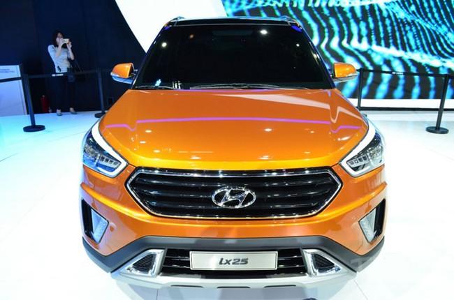 Hyundai ix25 - Xe SUV cỡ nhỏ hoàn toàn mới 2