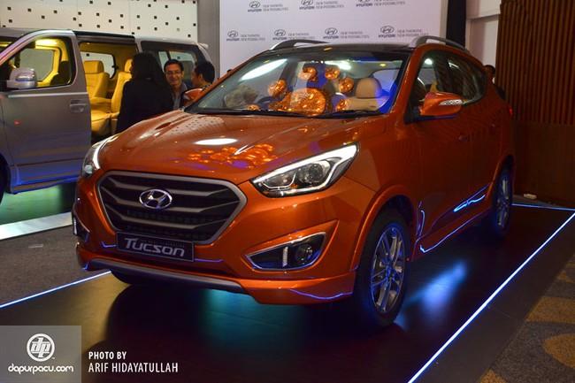 Hyundai Tucson 2015 ra mắt thị trường Đông Nam Á 3
