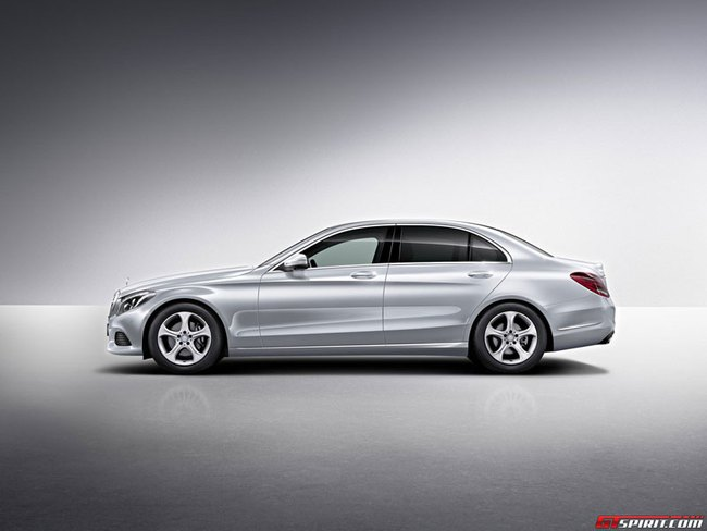 Mercedes-Benz C-Class kéo dài: Nhấn mạnh vào khoang nội thất VIP 1
