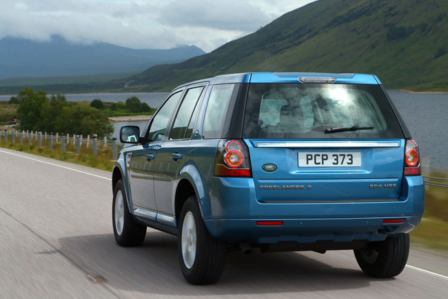 Land Rover Freelander phiên bản giá rẻ cạnh tranh với Toyota Fortuner 1