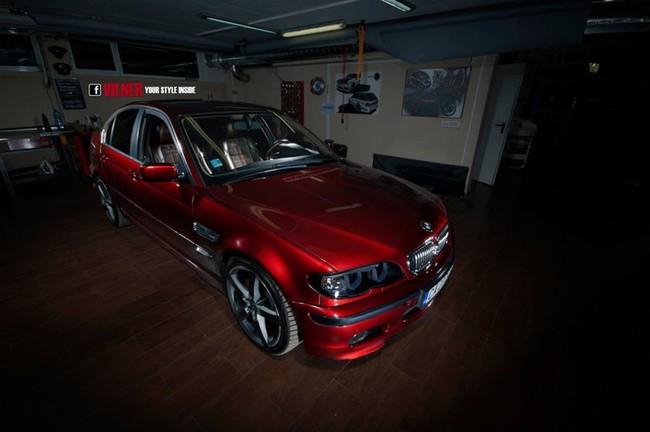 """Lột xác """"nội y"""" của BMW 3-Series già nua 1"""