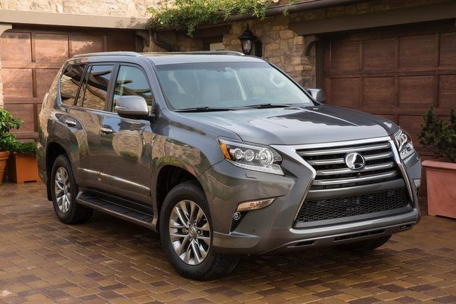 Lexus GX 2014: Diện mạo mới, giá rẻ hơn 4