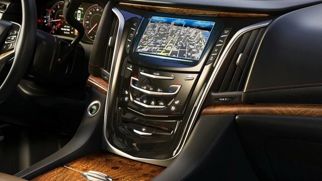 Cadillac hé lộ nội thất của Escalade 2015 1