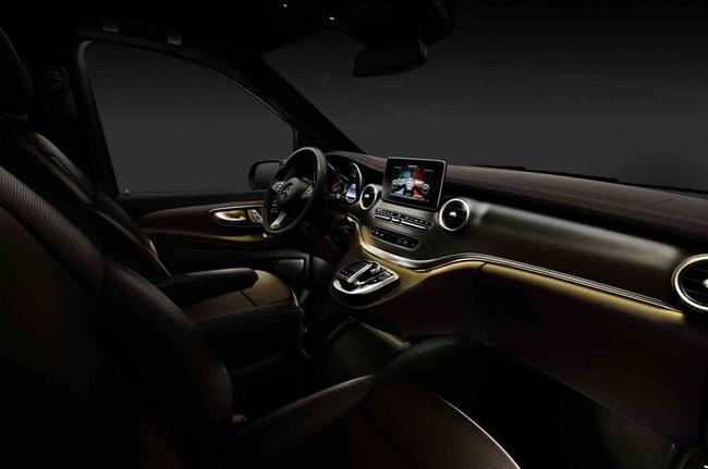 Chiêm ngưỡng nội thất của Mercedes-Benz V-Class mới 2
