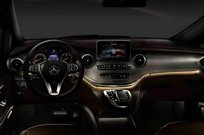 Chiêm ngưỡng nội thất của Mercedes-Benz V-Class mới 3