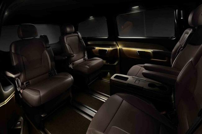 Chiêm ngưỡng nội thất của Mercedes-Benz V-Class mới 4