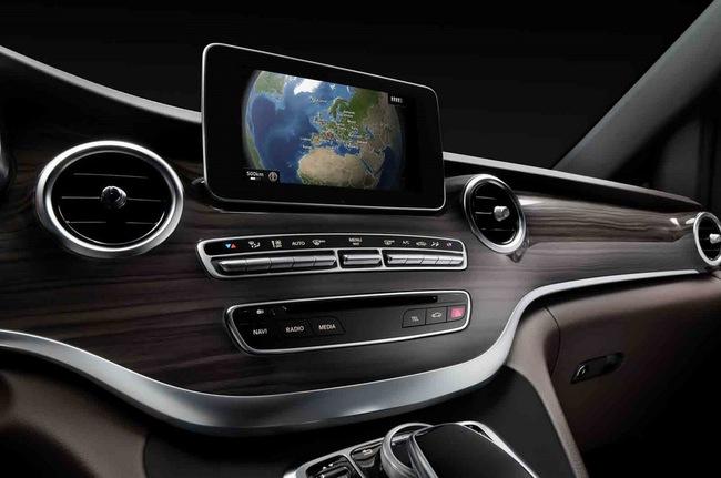 Chiêm ngưỡng nội thất của Mercedes-Benz V-Class mới 5