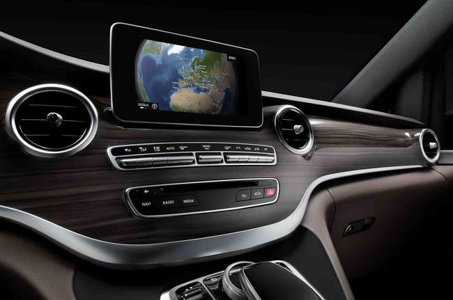 Chiêm ngưỡng nội thất của Mercedes-Benz V-Class mới 6