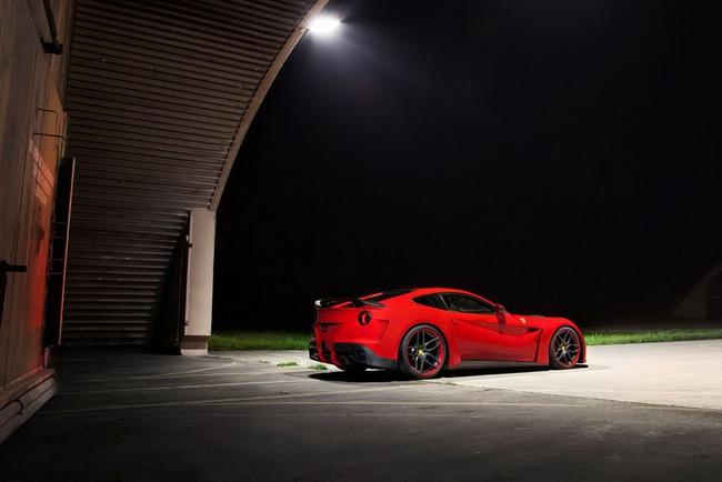 "Novitec Rosso N-Largo: Một chiếc F12 Berlinetta ""rực rỡ"" hơn 14"