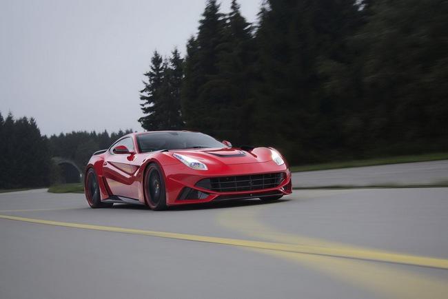 "Novitec Rosso N-Largo: Một chiếc F12 Berlinetta ""rực rỡ"" hơn 15"