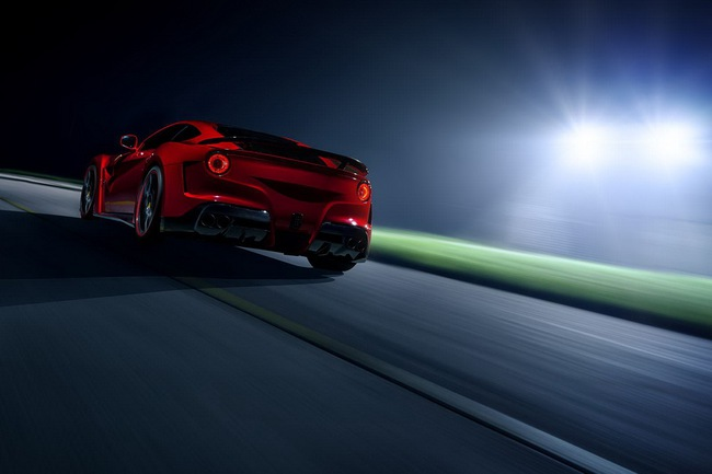 "Novitec Rosso N-Largo: Một chiếc F12 Berlinetta ""rực rỡ"" hơn 18"