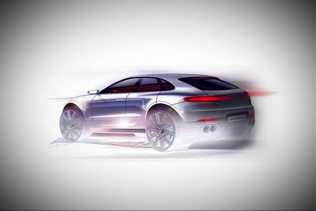 Porsche hé lộ hình ảnh mẫu SUV cỡ nhỏ Macan 2