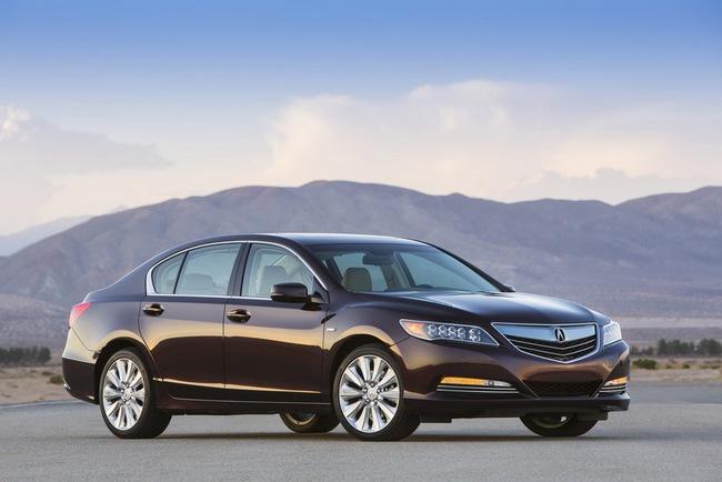 Acura RLX Sport Hybrid SH-AWD: Sang, nhanh và tiết kiệm xăng 3