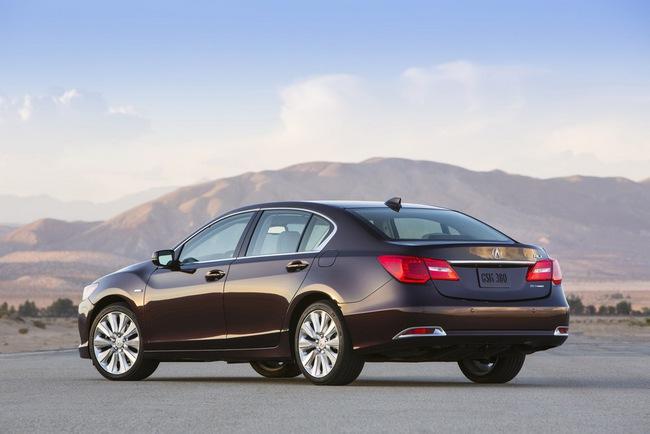 Acura RLX Sport Hybrid SH-AWD: Sang, nhanh và tiết kiệm xăng 4