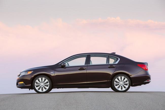 Acura RLX Sport Hybrid SH-AWD: Sang, nhanh và tiết kiệm xăng 5